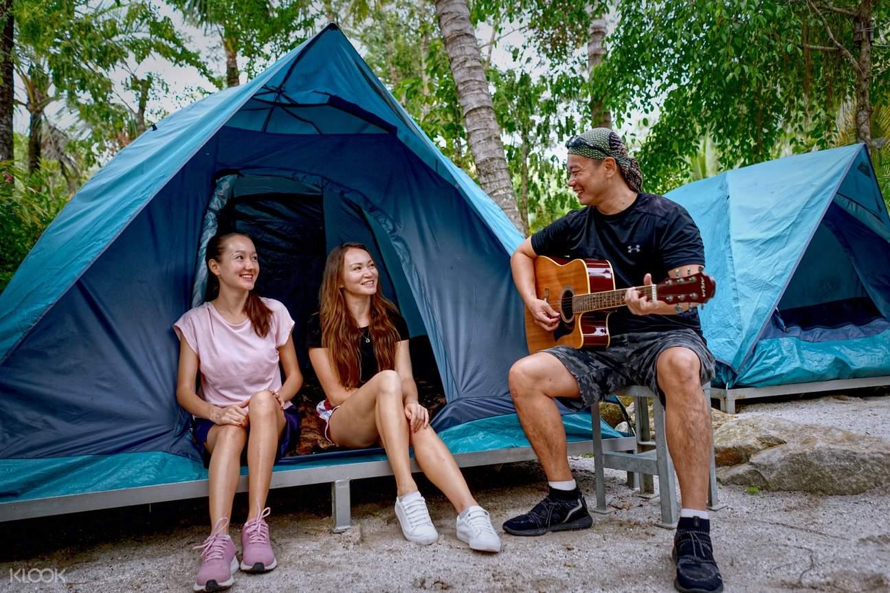 Base camp in ESCAPE Theme Park